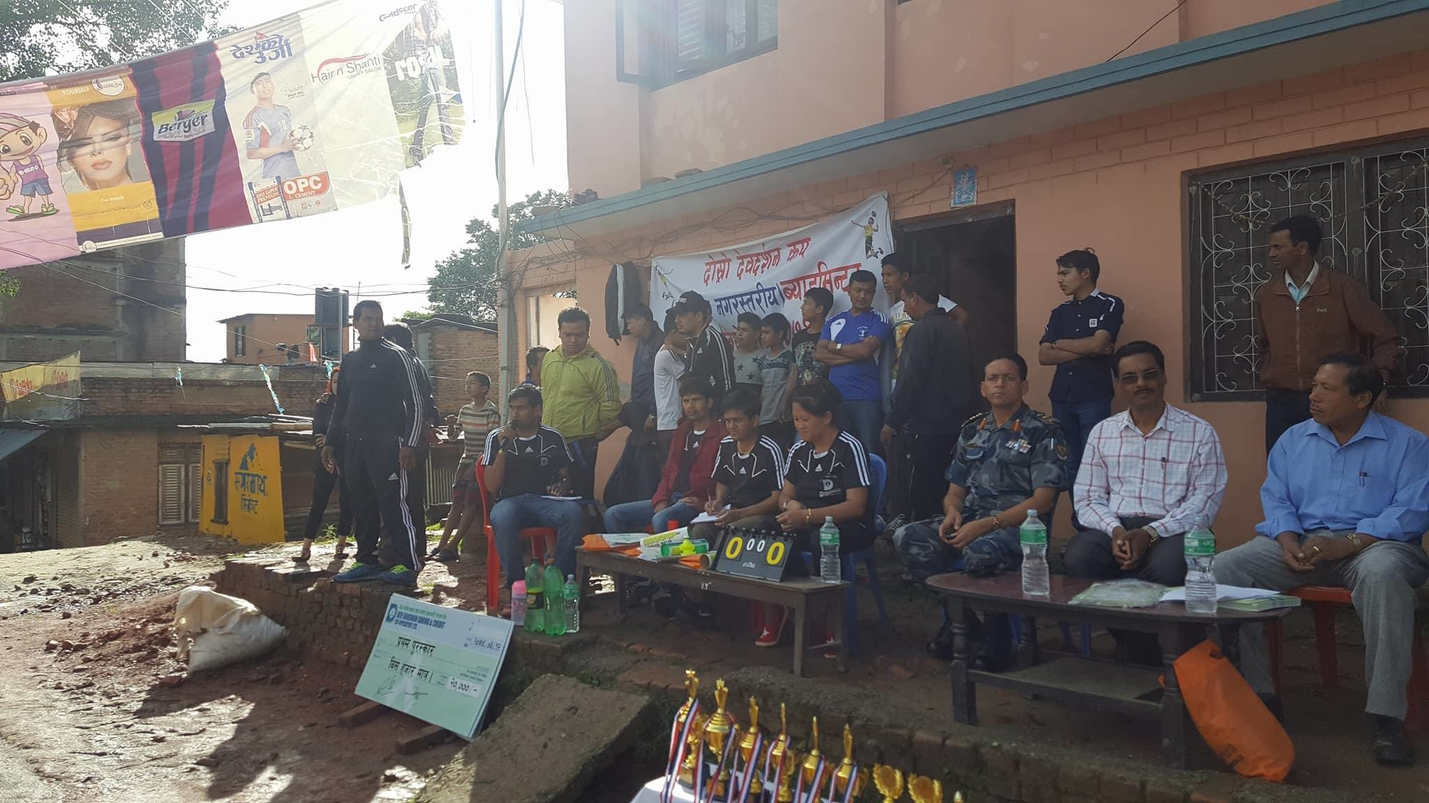 Chandragirinews 19490410_1715758035119255_470988519_o दोश्रो देवदर्शन कप ब्याडमिण्टनकको उपाधी पुष्ष खड्का र पवन अधिकारीको जोडीलार्इ, राजन पोखरेल उत्कृष्ठ खेलाडी खेलकुद नगरपालिका बैक / सहकारी संस्था ब्रेकिंग न्युज मुख्य वडा    chandragiri