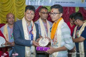 Chandragirinews 16-300x200 एसईई  परीक्षामा उटकृष्ट नतिजा प्राप्त गर्ने छात्र र छात्राहरुलाइ सम्मान शिक्षा    chandragiri