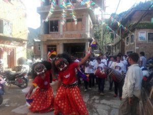 Chandragirinews lakhaenach-14-300x225 मच्छेगाँउमा देखाइयो ९ जिल्लाका २७ लाखे नाच नगरपालिका मछेगाउँ    chandragiri