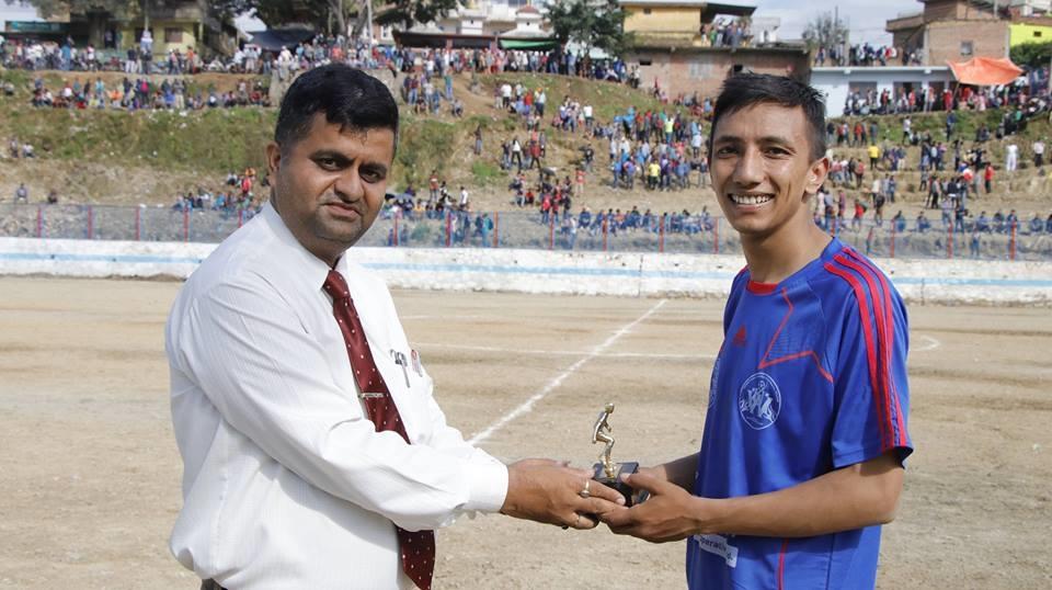 Chandragirinews naikap-gold-cup वेस्टर्न युनाइटेड र कलंकी युनाइटेड नैकाप गोल्डकपको क्वाटरफाइनलमा खेलकुद मुख्य वडा    chandragiri