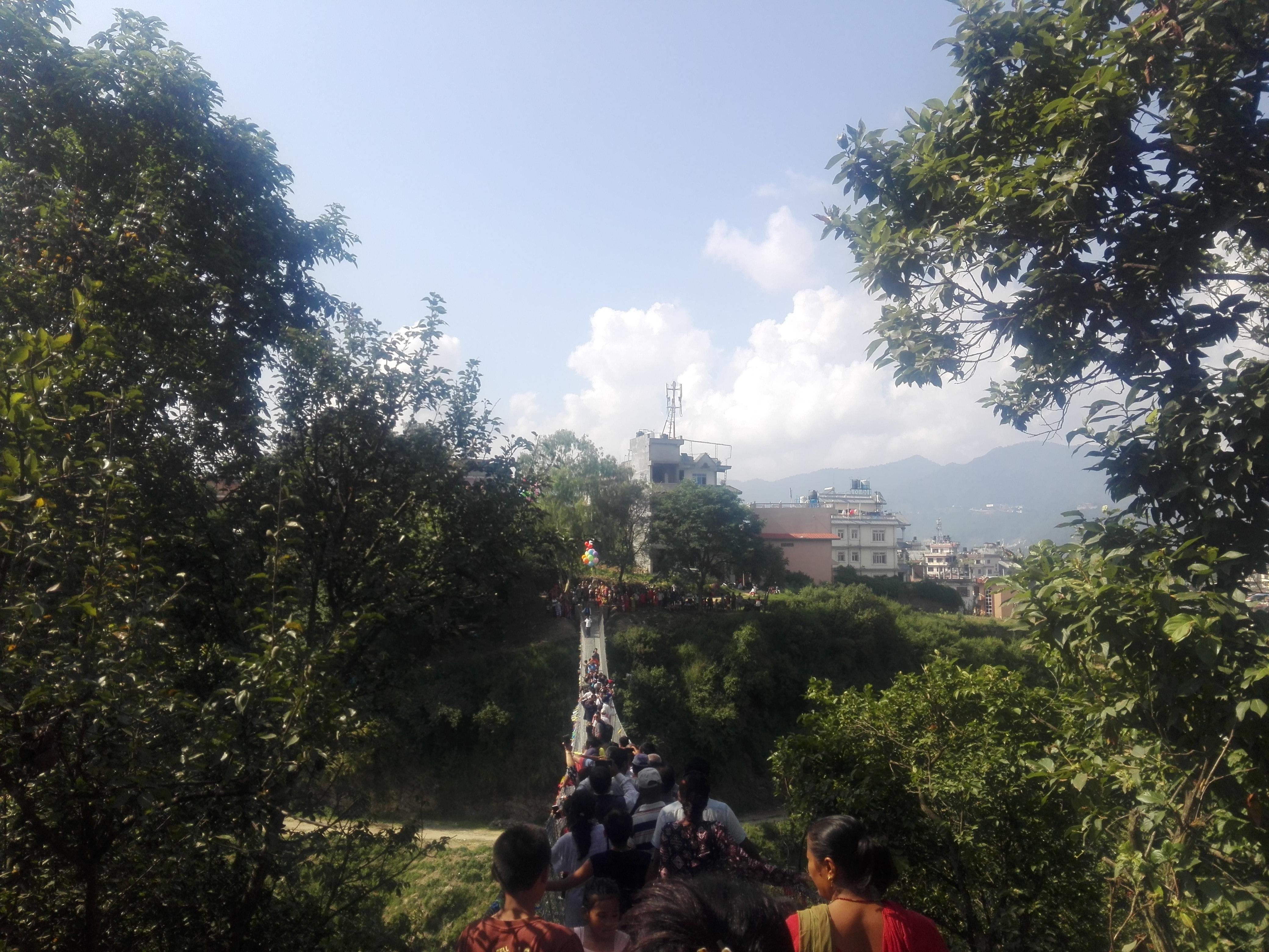 Chandragirinews naikapbridge तयार रहनुस् चन्द्रागिरि नगरमै 'बञ्जी जम्प' गर्न प्रविधि वडा    chandragiri
