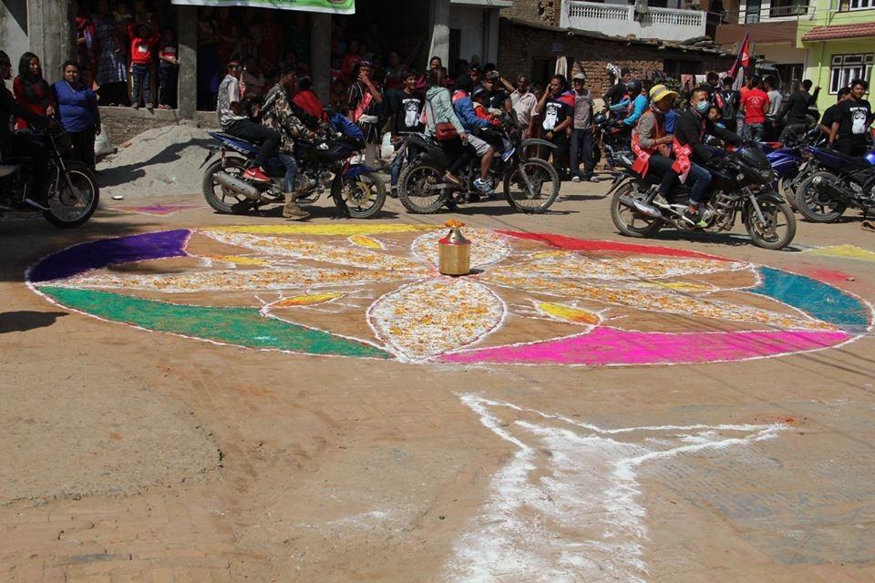 Chandragirinews satungal-nepal-sambat-1138-chandragirinews-21 नेपाल संवत् ११३८ का अवसरमा अायाेजित र्याली कला/साहित्य मुख्य    chandragiri