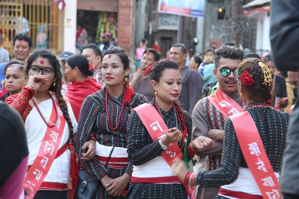 Chandragirinews satungal-nepal-sambat-1138-chandragirinews-40 नेपाल संवत् ११३८ का अवसरमा अायाेजित र्याली कला/साहित्य मुख्य    chandragiri