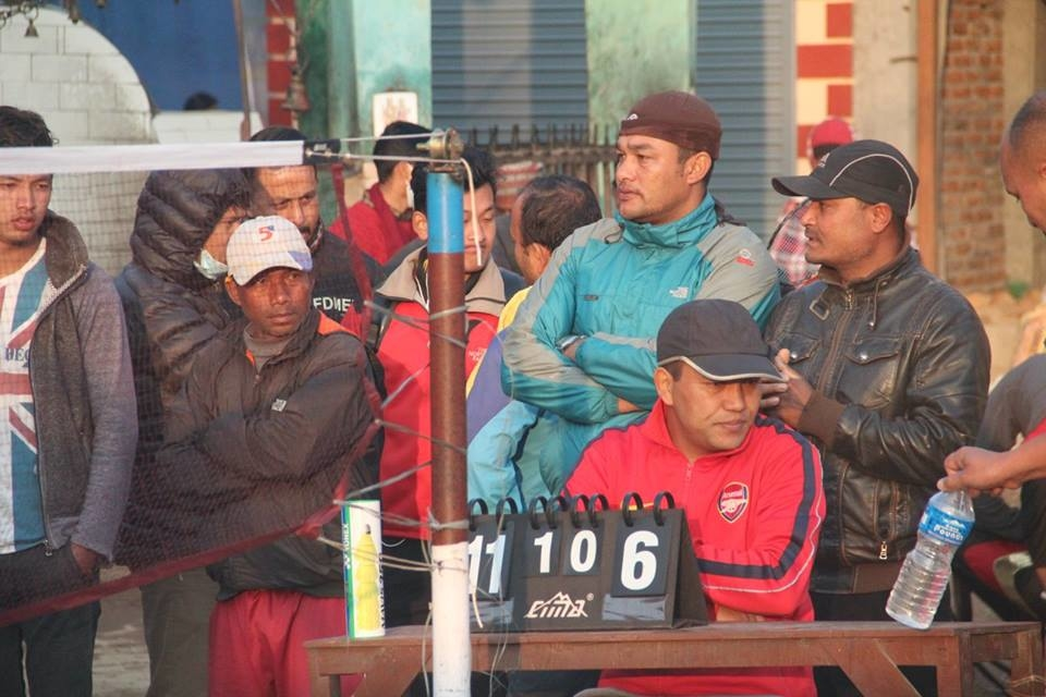 "Chandragirinews boshi-gaun-quatar-final-badminton-10 ""प्रथम बोसीगाउ खुल्ला पुरुष डबल्स ब्याडमिन्टन प्रतियोगिता २०७४"" आज बाट क्वाटर फाइनल खेलकुद बोसिंगाउँ    chandragiri, chandragiri news, chandragiri hills, chandragiri cabel car, thankot, satungal, naikap, balambu, matatirtha"