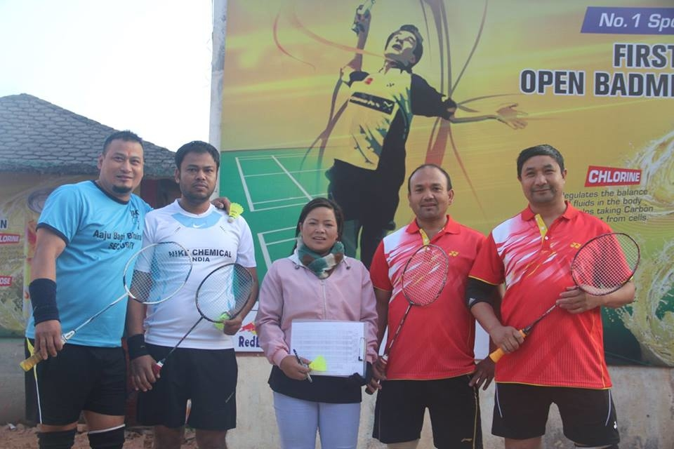 "Chandragirinews boshi-gaun-quatar-final-badminton-11 ""प्रथम बोसीगाउ खुल्ला पुरुष डबल्स ब्याडमिन्टन प्रतियोगिता २०७४"" आज बाट क्वाटर फाइनल खेलकुद बोसिंगाउँ    chandragiri, chandragiri news, chandragiri hills, chandragiri cabel car, thankot, satungal, naikap, balambu, matatirtha"