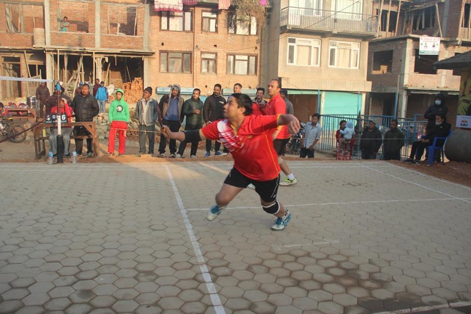 "Chandragirinews boshi-gaun-quatar-final-badminton-12 ""प्रथम बोसीगाउ खुल्ला पुरुष डबल्स ब्याडमिन्टन प्रतियोगिता २०७४"" आज बाट क्वाटर फाइनल खेलकुद बोसिंगाउँ    chandragiri, chandragiri news, chandragiri hills, chandragiri cabel car, thankot, satungal, naikap, balambu, matatirtha"
