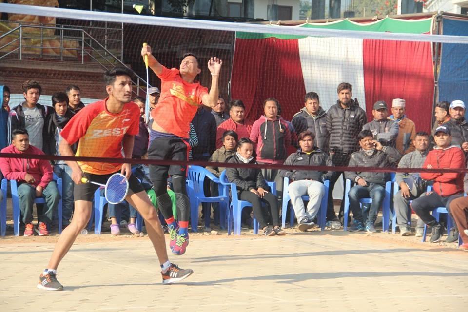 "Chandragirinews boshi-gaun-quatar-final-badminton-5 ""प्रथम बोसीगाउ खुल्ला पुरुष डबल्स ब्याडमिन्टन प्रतियोगिता २०७४"" आज बाट क्वाटर फाइनल खेलकुद बोसिंगाउँ    chandragiri, chandragiri news, chandragiri hills, chandragiri cabel car, thankot, satungal, naikap, balambu, matatirtha"