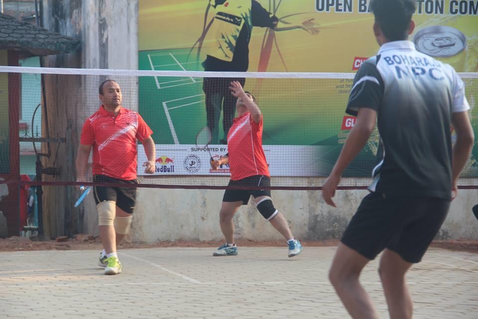 Chandragirinews boshigaun-badminton-semifinal-1 प्रथम बोसीगाउ खुल्ला पुरुष डबल्स ब्याडमिन्टन  प्रतियोगिता,  आचार्य, श्रेष्ठको  जोडी र कटवाल, बोहराको  जोडी उपाधीका लागि भिड्दै खेलकुद बोसिंगाउँ    chandragiri