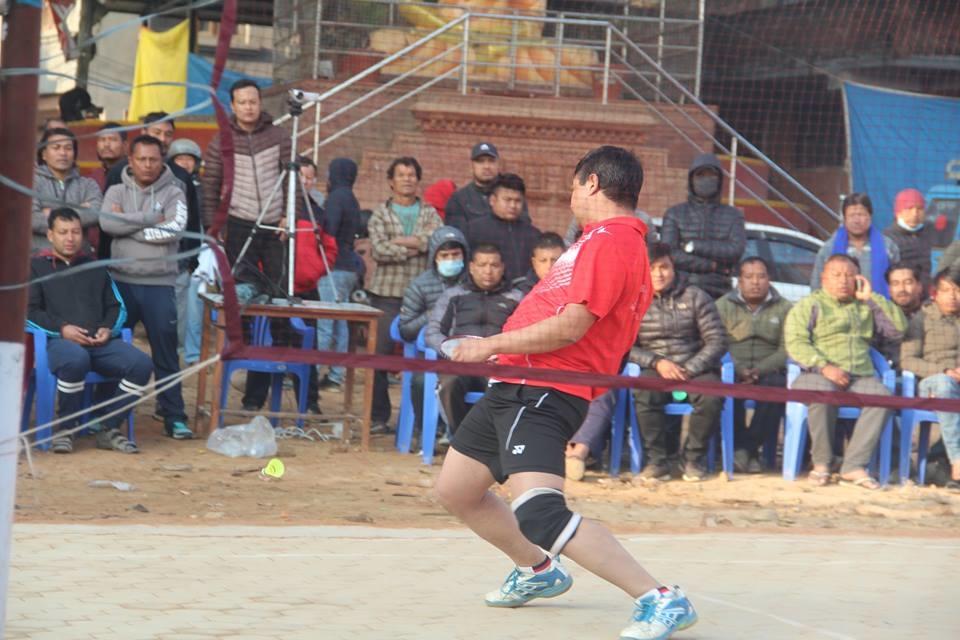 Chandragirinews boshigaun-badminton-semifinal-2 प्रथम बोसीगाउ खुल्ला पुरुष डबल्स ब्याडमिन्टन  प्रतियोगिता,  आचार्य, श्रेष्ठको  जोडी र कटवाल, बोहराको  जोडी उपाधीका लागि भिड्दै खेलकुद बोसिंगाउँ    chandragiri