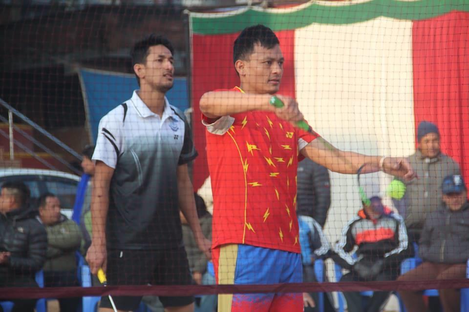 Chandragirinews boshigaun-badminton-semifinal-4 प्रथम बोसीगाउ खुल्ला पुरुष डबल्स ब्याडमिन्टन  प्रतियोगिता,  आचार्य, श्रेष्ठको  जोडी र कटवाल, बोहराको  जोडी उपाधीका लागि भिड्दै खेलकुद बोसिंगाउँ    chandragiri