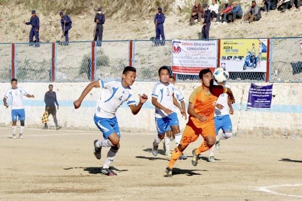Chandragirinews gold-cup-2nd-semi-final-1_600x400 हिमालयन शेर्पा चन्द्रागिरी गोल्डकपको फाइनलमा खेलकुद नैकाप नयाँ भन्ज्यांग नैकाप पुरानो भन्ज्यांग    chandragiri