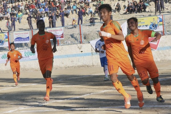 Chandragirinews gold-cup-2nd-semi-final-2_600x400 हिमालयन शेर्पा चन्द्रागिरी गोल्डकपको फाइनलमा खेलकुद नैकाप नयाँ भन्ज्यांग नैकाप पुरानो भन्ज्यांग    chandragiri
