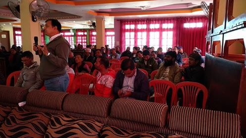 Chandragirinews nic7 एन आई सि एसिया बैंक थान्कोट साखाको घर कर्जा को बिषयक ब्रिहत सचेतना कार्यक्रम सम्पन्न बैक / सहकारी संस्था    chandragiri