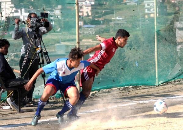 Chandragirinews semifinal-3 फ्रेण्डस् चन्द्रागिरी गोल्डकपको फाइनलमा खेलकुद नैकाप नयाँ भन्ज्यांग नैकाप पुरानो भन्ज्यांग    chandragiri