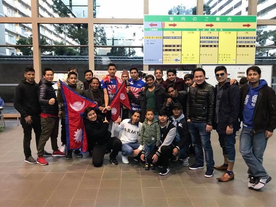 Chandragirinews boxing-4 जापानमा 'हिट ४१ प्रोफेशनल किक बक्सिङ'मा नेपाली खेलाडी घिमीरेलाई सफलता खेलकुद    chandragiri