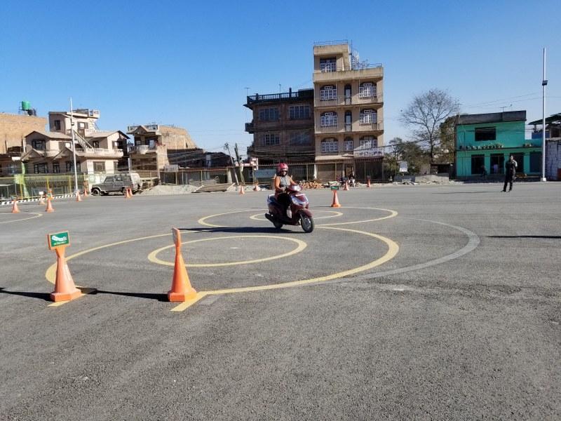 Chandragirinews chandragiri-driving-center-2 सवारी प्रशिक्षणमा नयाँ आयाम बलम्बु मुख्य समाज    chandragiri