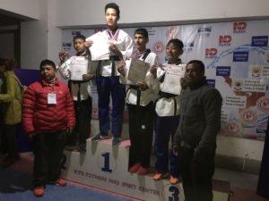Chandragirinews jessis2 जेसिसले जित्यो स्वर्ण सहित आठ पदक शिक्षा    chandragiri