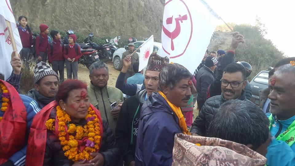 Chandragirinews uml-16 काठमाण्डाै क्षेत्र नं. १० प्रदेश ख मा विजयी  बाम गठबन्धनकी उम्मेदवार रमा अालेमगर तथा समर्थकहरू । किसीपिँडी तीनथाना थानकोट दहचोक नैकाप नयाँ भन्ज्यांग नैकाप पुरानो भन्ज्यांग बलम्बु बाद भन्ज्यांग बोसिंगाउँ मछेगाउँ महादेव स्थान मातातिर्थ मुख्य राजनीति लंकोट सतुंगल    chandragiri, chandragiri news, chandragiri hills, chandragiri cabel car, thankot, satungal, naikap, balambu, matatirtha