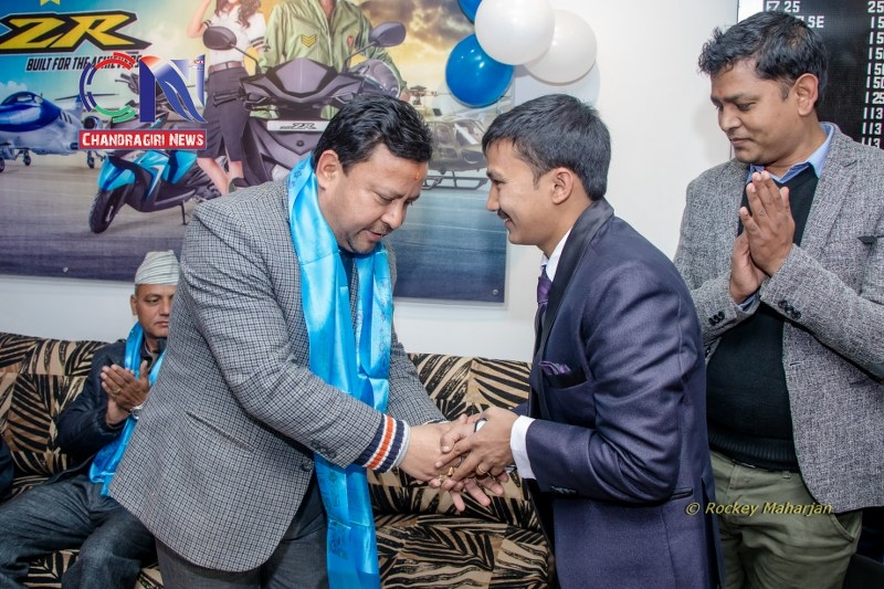 Chandragirinews chandragiri-yamaha-showroom-15 यामाहाको नयाँ शोरुम सतुंगलमा नगरपालिका बैक / सहकारी संस्था मुख्य सतुंगल समाज    chandragiri