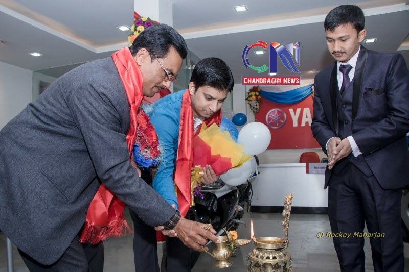 Chandragirinews chandragiri-yamaha-showroom-2 यामाहाको नयाँ शोरुम सतुंगलमा नगरपालिका बैक / सहकारी संस्था मुख्य सतुंगल समाज    chandragiri