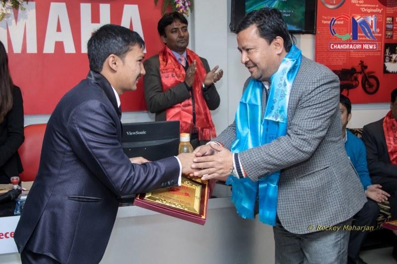 Chandragirinews chandragiri-yamaha-showroom-22 यामाहाको नयाँ शोरुम सतुंगलमा नगरपालिका बैक / सहकारी संस्था मुख्य सतुंगल समाज    chandragiri