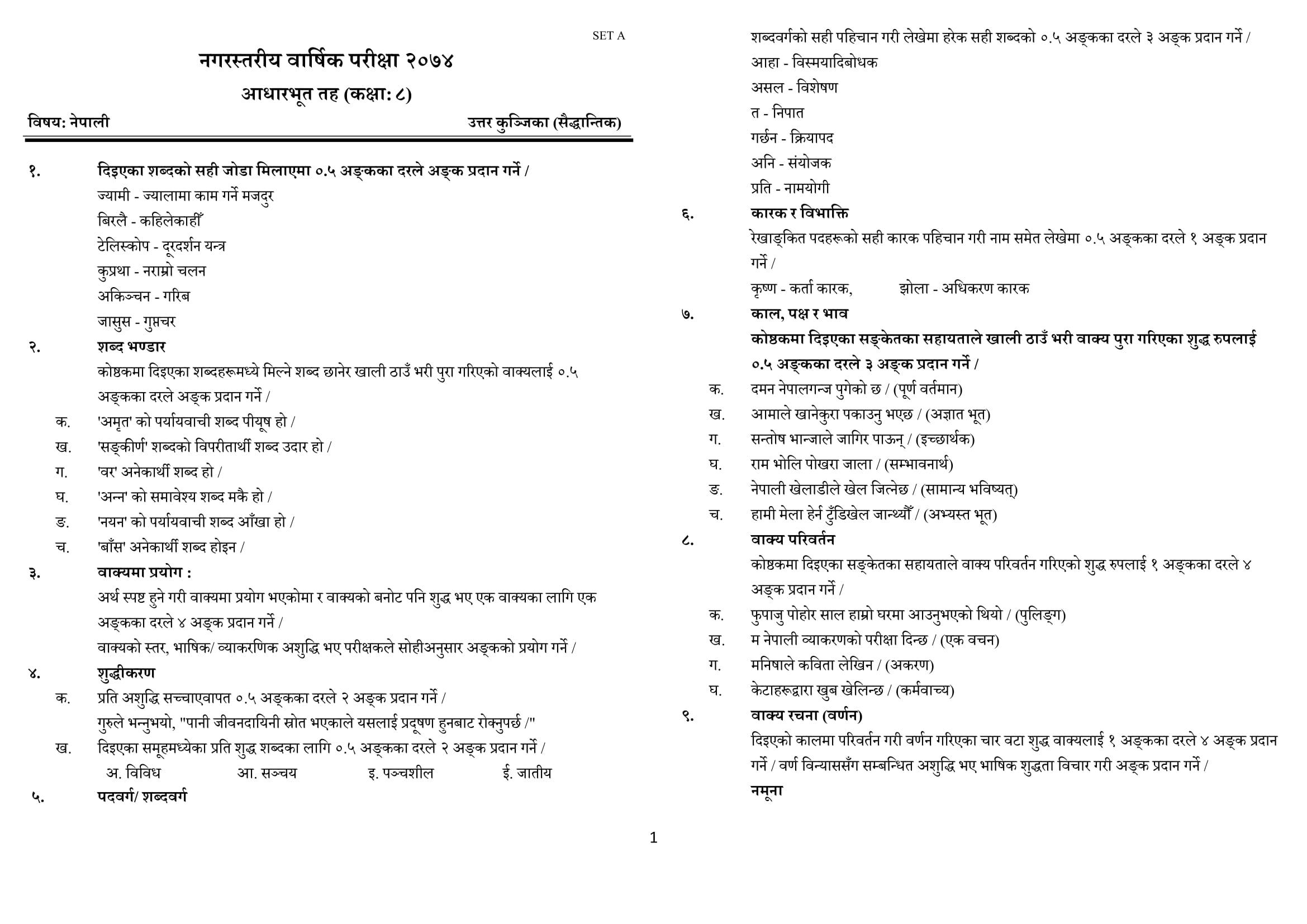 Chandragirinews Answer-Key-Nepali.docx_-1 नेपाली बिषयको उत्तर पूञ्जिका (Answer Key) नगरपालिका शिक्षा    chandragiri
