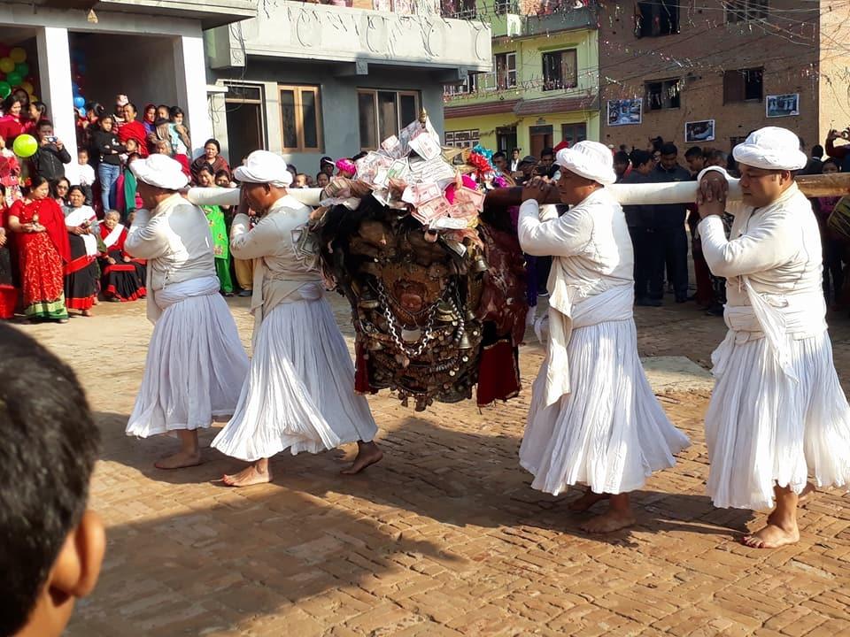 Chandragirinews kisi2 कालिका भैरब जात्रा किसीपिँडी नगरपालिका मुख्य राष्ट्रिय संस्कृत    chandragiri