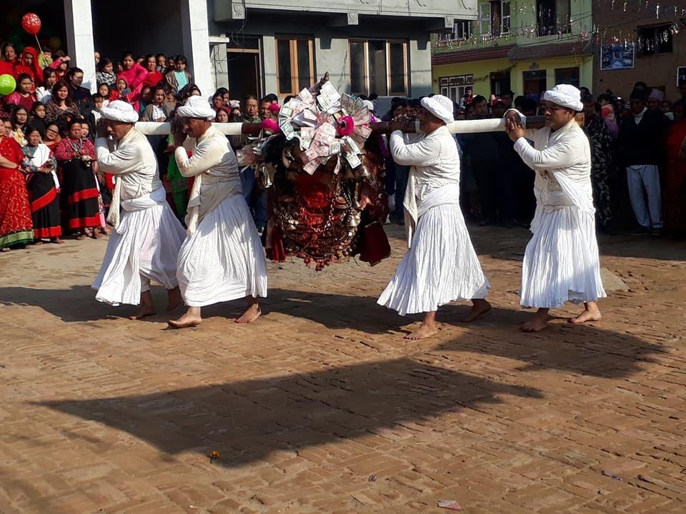 Chandragirinews kisi3 कालिका भैरब जात्रा किसीपिँडी नगरपालिका मुख्य राष्ट्रिय संस्कृत    chandragiri