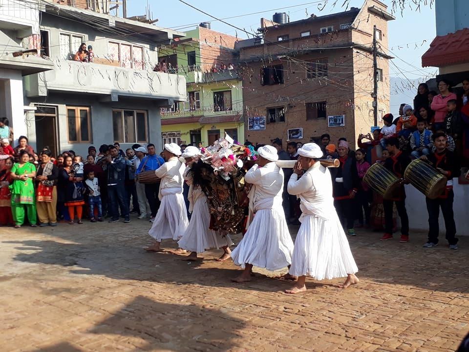 Chandragirinews kisi4 कालिका भैरब जात्रा किसीपिँडी नगरपालिका मुख्य राष्ट्रिय संस्कृत    chandragiri
