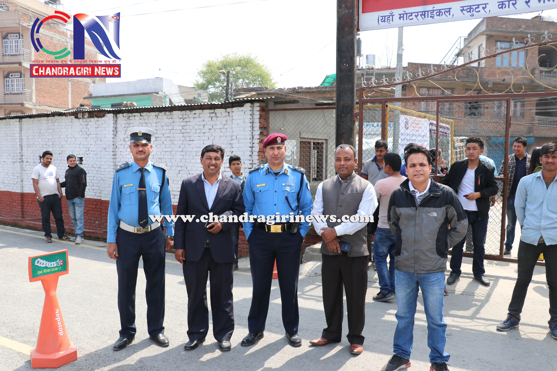 Chandragirinews vechicle-and-research-center-2 गुर्जुधारमा सवारी चालक अनुमतिपत्र परीक्षण केन्द्र सुरु बलम्बु ब्रेकिंग न्युज मुख्य राष्ट्रिय शिक्षा    chandragiri