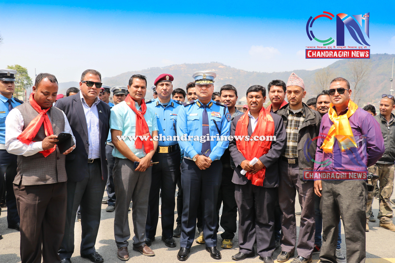 Chandragirinews vechicle-and-research-center-4 गुर्जुधारमा सवारी चालक अनुमतिपत्र परीक्षण केन्द्र सुरु बलम्बु ब्रेकिंग न्युज मुख्य राष्ट्रिय शिक्षा    chandragiri