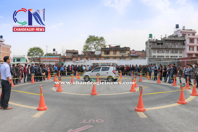 Chandragirinews vechicle-and-research-center-5 गुर्जुधारमा सवारी चालक अनुमतिपत्र परीक्षण केन्द्र सुरु बलम्बु ब्रेकिंग न्युज मुख्य राष्ट्रिय शिक्षा    chandragiri