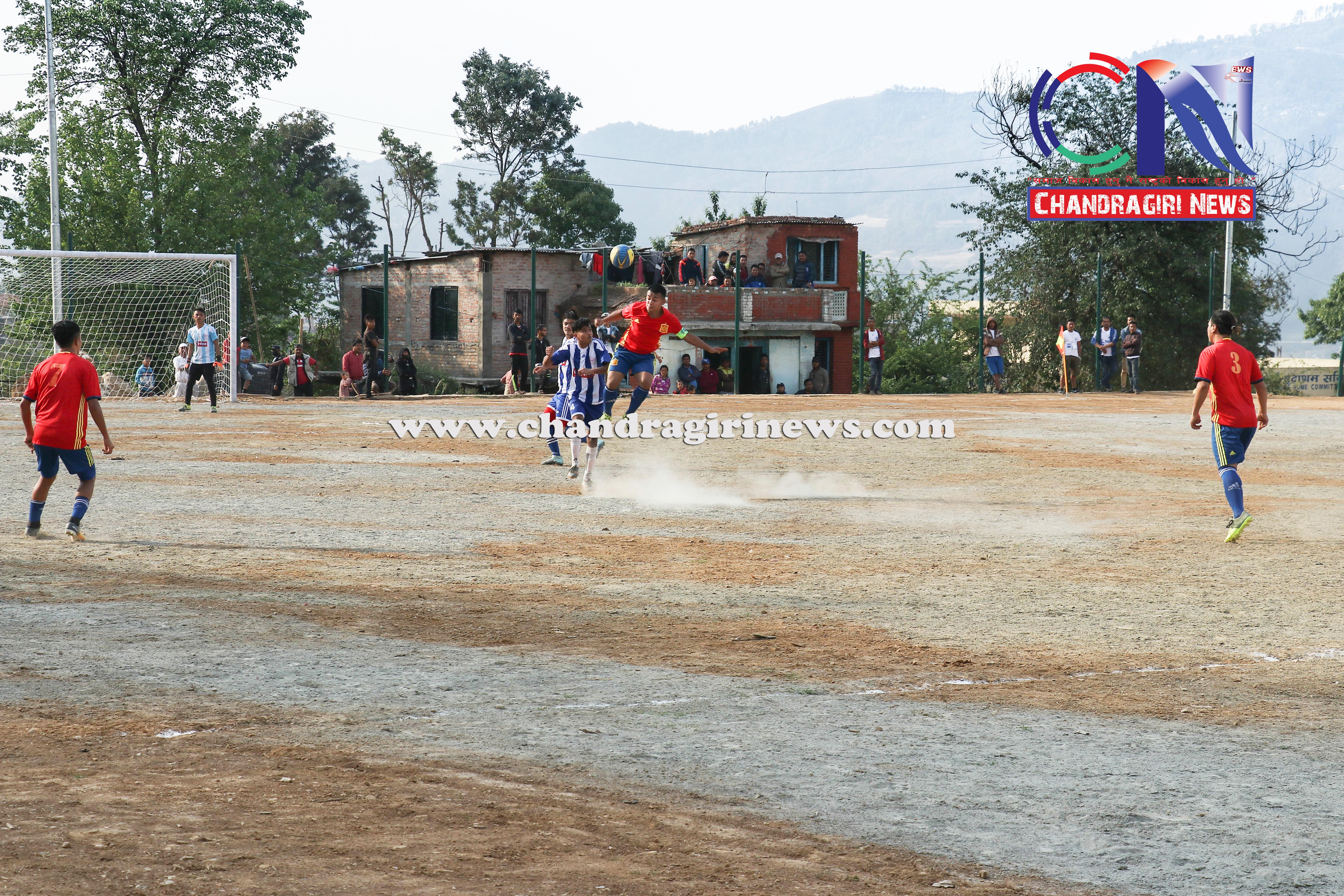 Chandragirinews western-united-first-game-10 चाैठाै  नेपाललय वईस्टन युनाईटेड क्लव फुटबल प्रतियाेगिता सुरू काठमाडौं किसीपिँडी खेलकुद थानकोट ब्रेकिंग न्युज महादेव स्थान मातातिर्थ मुख्य    chandragiri