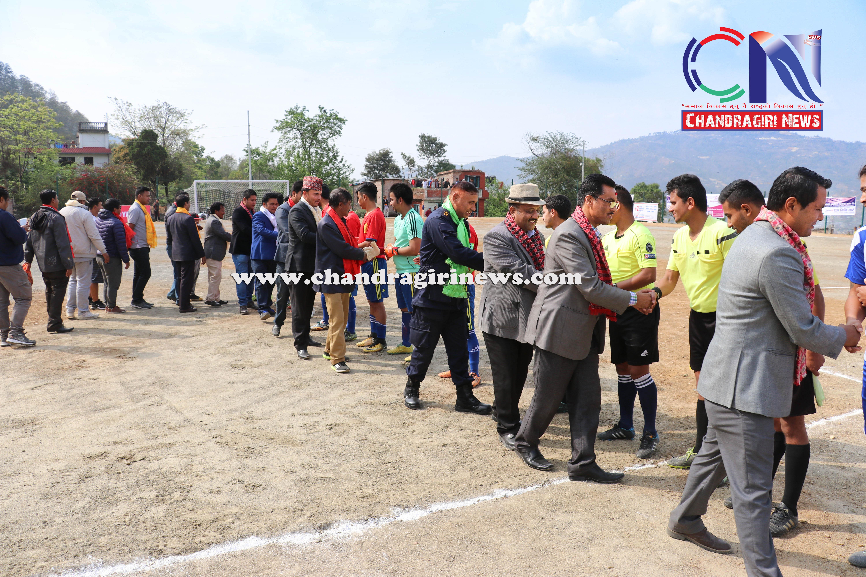 Chandragirinews western-united-first-game-2 चाैठाै  नेपाललय वईस्टन युनाईटेड क्लव फुटबल प्रतियाेगिता सुरू काठमाडौं किसीपिँडी खेलकुद थानकोट ब्रेकिंग न्युज महादेव स्थान मातातिर्थ मुख्य    chandragiri