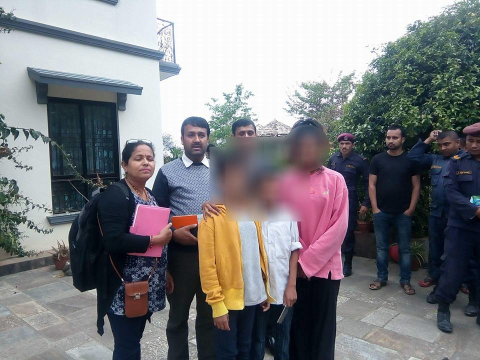 Chandragirinews child-trafficing बालबालिका तथा महिलाको उद्दार अपराध नगरपालिका ब्रेकिंग न्युज    chandragiri
