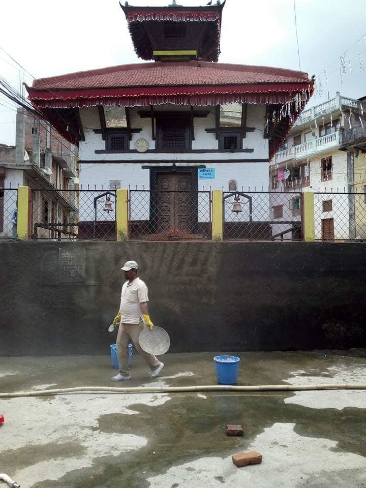 Chandragirinews pokhari चन्द्रागिरी न. पा. वडा नं ५ किपुल्चामा पोखरी पुन: निर्माण हुदै किसीपिँडी मुख्य वडा समाज संस्कृत    chandragiri