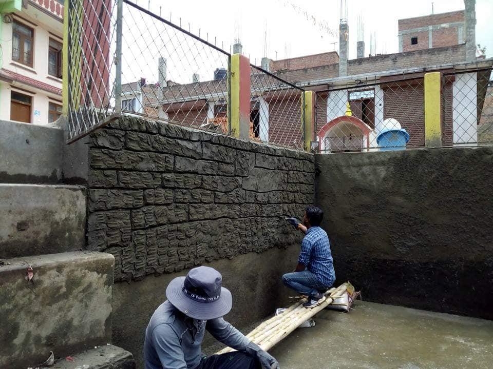 Chandragirinews pokhari1 चन्द्रागिरी न. पा. वडा नं ५ किपुल्चामा पोखरी पुन: निर्माण हुदै किसीपिँडी मुख्य वडा समाज संस्कृत    chandragiri