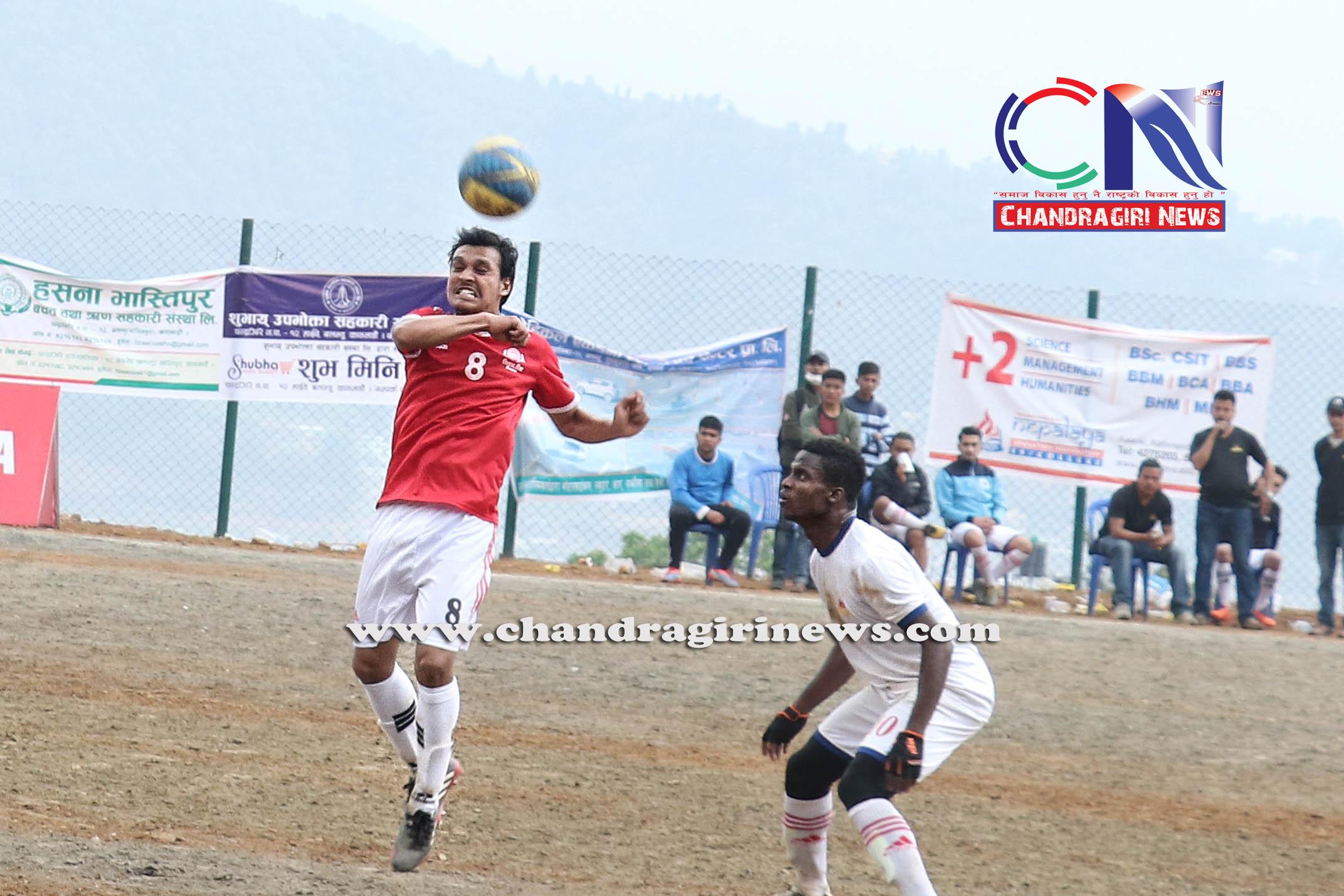 Chandragirinews western-united-3rd-game-13-1 चाैठाै नेपाललय वईस्टन युनाईटेड क्लवकप फुटबल प्रतियाेगितामा ब्लु बेल फुटबल क्लब र वराकल रे स्पोर्ट्स एकेडेमीको विजयी सुरुवात खेलकुद नगरपालिका ब्रेकिंग न्युज मातातिर्थ मुख्य राष्ट्रिय    chandragiri