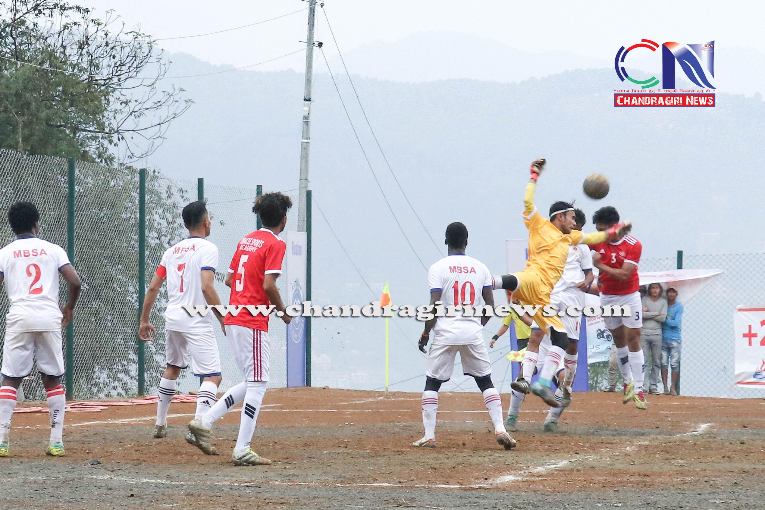 Chandragirinews western-united-3rd-game-4 चाैठाै नेपाललय वईस्टन युनाईटेड क्लवकप फुटबल प्रतियाेगितामा ब्लु बेल फुटबल क्लब र वराकल रे स्पोर्ट्स एकेडेमीको विजयी सुरुवात खेलकुद नगरपालिका ब्रेकिंग न्युज मातातिर्थ मुख्य राष्ट्रिय    chandragiri