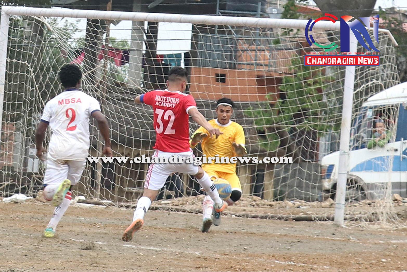 Chandragirinews western-united-3rd-game-9 चाैठाै नेपाललय वईस्टन युनाईटेड क्लवकप फुटबल प्रतियाेगितामा ब्लु बेल फुटबल क्लब र वराकल रे स्पोर्ट्स एकेडेमीको विजयी सुरुवात खेलकुद नगरपालिका ब्रेकिंग न्युज मातातिर्थ मुख्य राष्ट्रिय    chandragiri