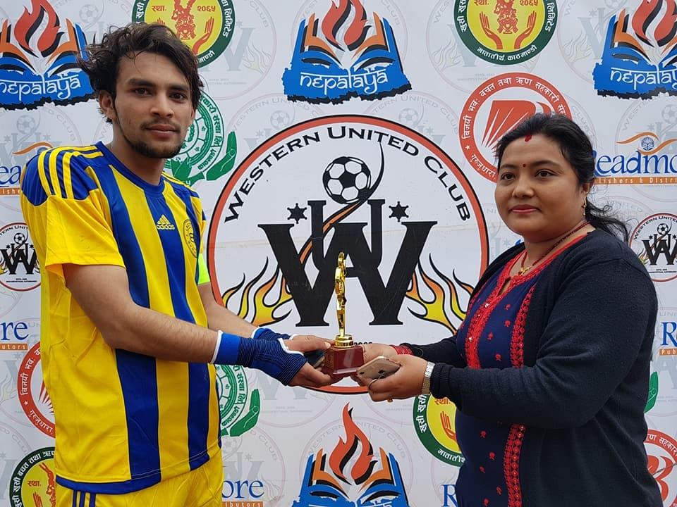 Chandragirinews western-united-4 आयोजक वईस्टन युनाईटेड क्लब पहिलो खेलमै दीपशिका फुटबल क्लबसँग पराजित खेलकुद ब्रेकिंग न्युज मुख्य    chandragiri