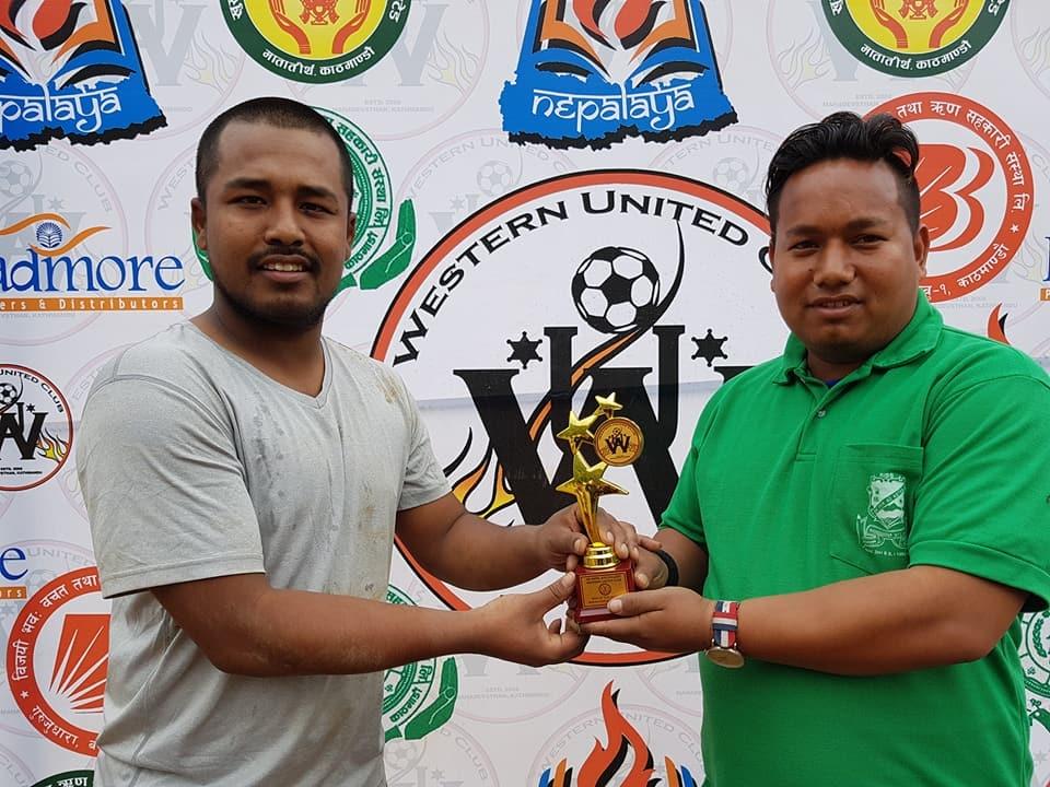 Chandragirinews western-united-6 आयोजक वईस्टन युनाईटेड क्लब पहिलो खेलमै दीपशिका फुटबल क्लबसँग पराजित खेलकुद ब्रेकिंग न्युज मुख्य    chandragiri