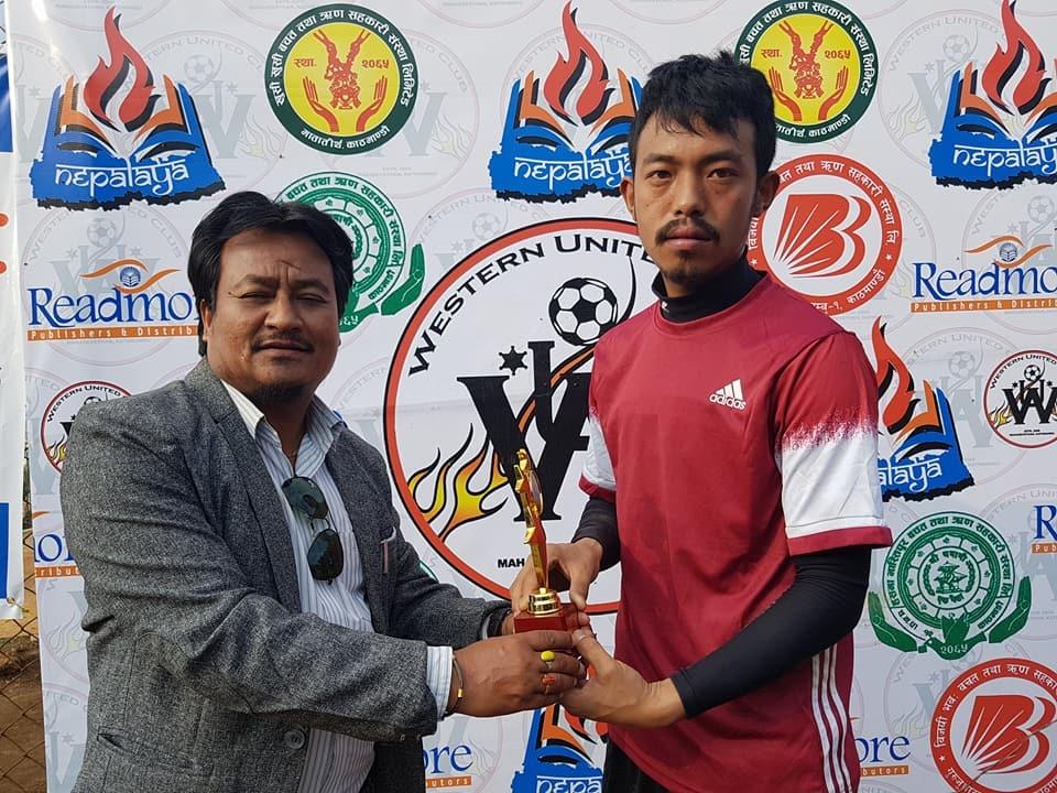 Chandragirinews western-united-7 आयोजक वईस्टन युनाईटेड क्लब पहिलो खेलमै दीपशिका फुटबल क्लबसँग पराजित खेलकुद ब्रेकिंग न्युज मुख्य    chandragiri