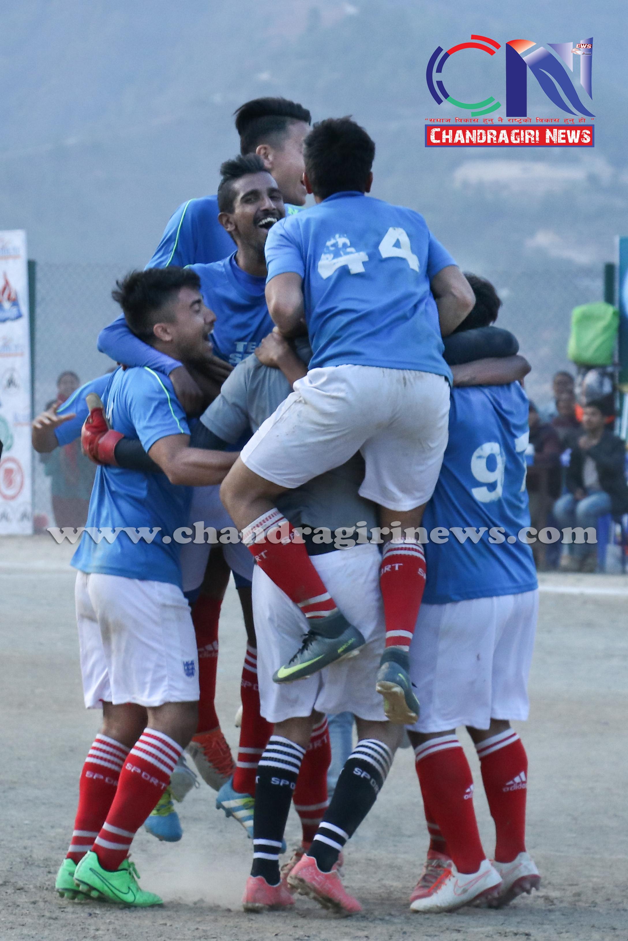 Chandragirinews western-united-final-9 नेपालय वइस्टर्न यूनाइटेड फुटबलको उपाधि टिम स्पिड न्यूरोडलाई खेलकुद ब्रेकिंग न्युज मुख्य    chandragiri