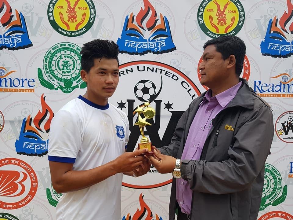 Chandragirinews western-united-quter-final चाैठाै नेपालय वईस्टन युनाईटेड क्लबकप फुटबल प्रतियाेगितामा टिम इस्पिद र वेस्ट काठमाडौँ सेमी फाइनलमा खेलकुद    chandragiri