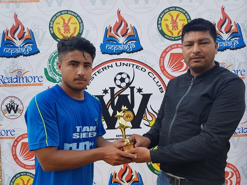 Chandragirinews western-united-quter-final2 चाैठाै नेपालय वईस्टन युनाईटेड क्लबकप फुटबल प्रतियाेगितामा टिम इस्पिद र वेस्ट काठमाडौँ सेमी फाइनलमा खेलकुद    chandragiri