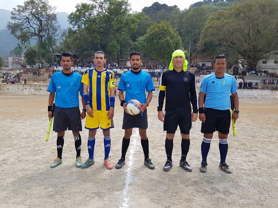 Chandragirinews western-united8 चाैठाै नेपालय वईस्टन युनाईटेड क्लबकप फुटबल प्रतियाेगितामा वि आर ब्रदर विजयी खेलकुद    chandragiri