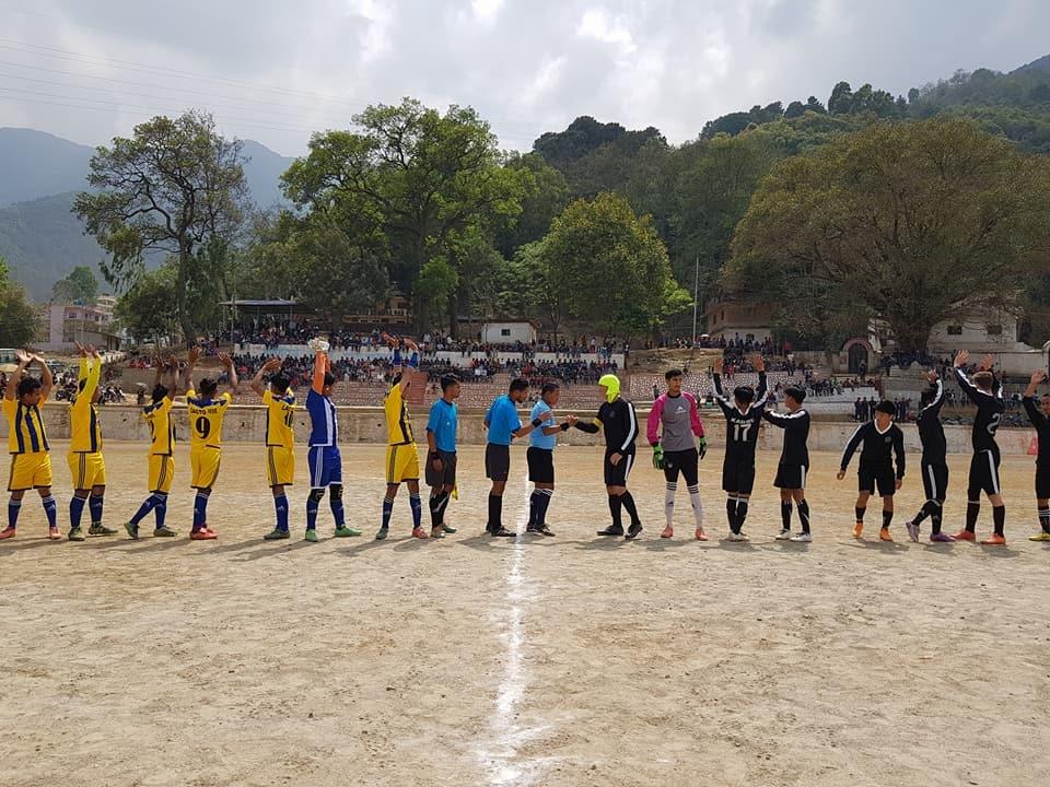 Chandragirinews western-united81 चाैठाै नेपालय वईस्टन युनाईटेड क्लबकप फुटबल प्रतियाेगितामा वि आर ब्रदर विजयी खेलकुद    chandragiri