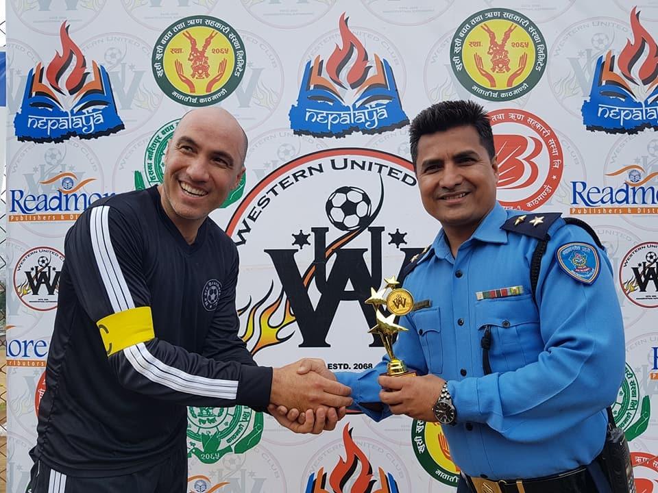 Chandragirinews western-united82 चाैठाै नेपालय वईस्टन युनाईटेड क्लबकप फुटबल प्रतियाेगितामा वि आर ब्रदर विजयी खेलकुद    chandragiri