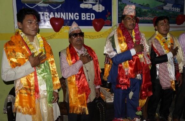 Chandragirinews life- सम्मान कार्यक्रम सम्पन्न नैकाप नयाँ भन्ज्यांग    chandragiri